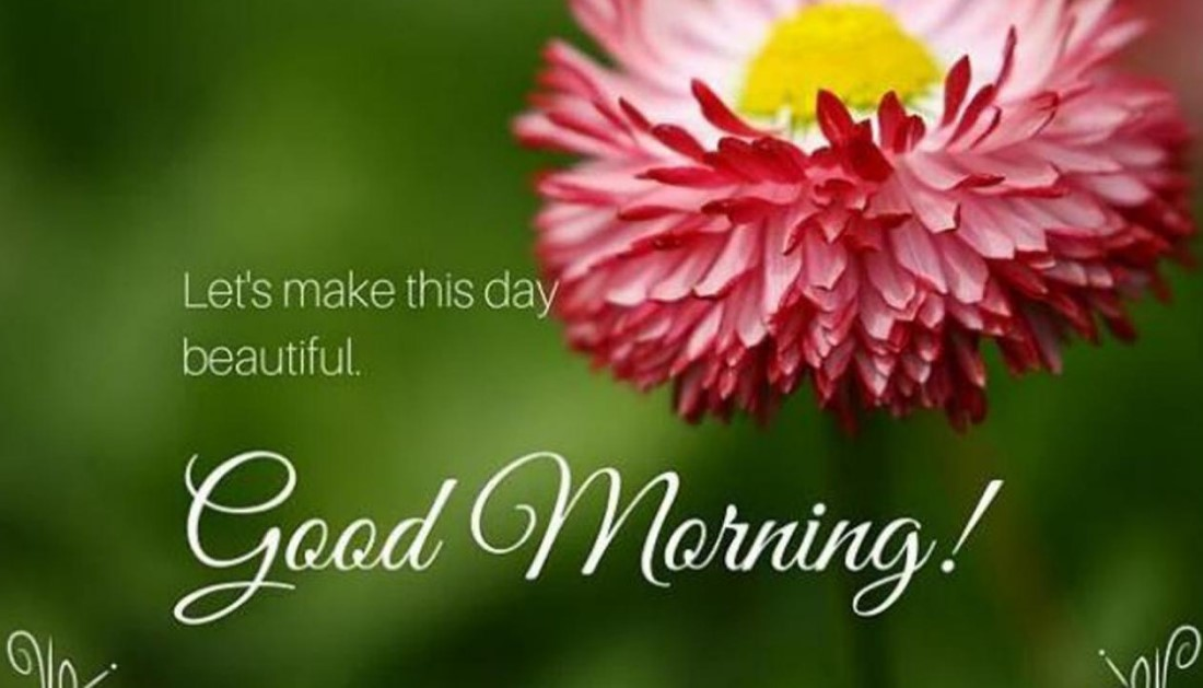 Positive Good Morning Text For Him Image