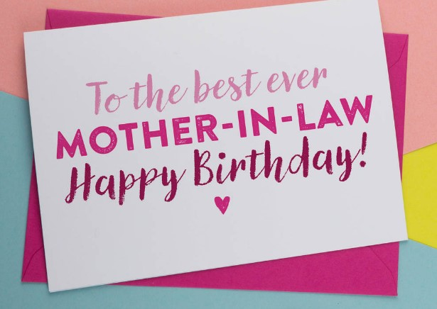 Sweet Happy Birthday Mother-In-Law Wishes Images