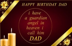 happy birthday in heaven dad